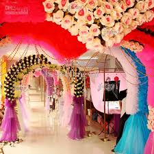 wedding supplies online 10meter wedding decoration hanging plating channeling