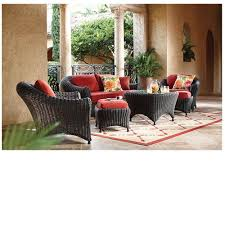 Wicker Patio Furniture Replacement Cushions - furniture charming cool martha stewart patio furniture with