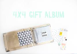 4x4 gift album by shanna tangerine