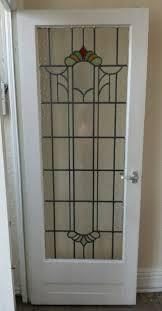 old glass doors old original 1930 u0027s stained glass internal door kitchen ideas