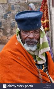 addis ababa ethiopia africa old religious man portrait aged 70 in