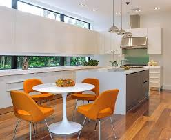 Standard Kitchen Island Height by Tulip Table Kitchen Modern With Kitchen Island Waterfall Vented