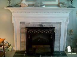 cover brick fireplace with tile maisonea com