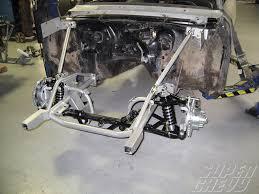 car front suspension 1966 chevy nova tci pro touring ifs tci front clip super chevy