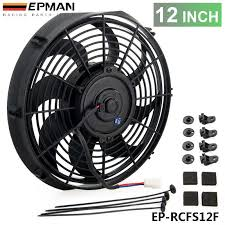 oil cooler with fan epman new 12inch electric universal radiator fan curved s