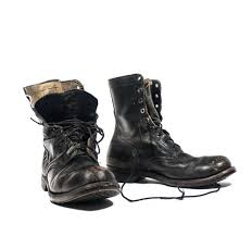 s lace up boots size 12 vintage 1966 combat boots international shoe company lace up