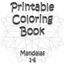 awesome collection printable mandala coloring book pdf