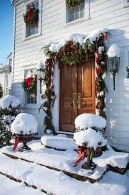festive holiday staircases and entryways traditional home enlarge