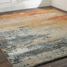 modern color wash rug shades of light