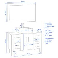 home design trendy vanity table height comfort bathroom home
