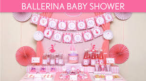 ballerina baby shower theme ballerina baby shower ideas ballerina s49