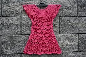 dress pattern 5 year old crochet dress for little princess