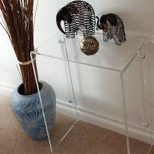 Ebay Console Table by Acrylic Console Table Ebay Friendly Acrylic Console Table U2013 Home