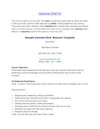 chef resume template chef resume sle free best of resume template sle for cooks