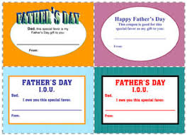 iou coupon template free downloads for printable gift certificate