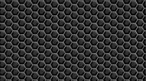 metallic black hexagons wallpaper 8068