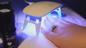 5w mini led uv nail dryer curing lamp light portable for led uv