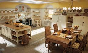 luxury farmhouse interior design with kitchens island and dining