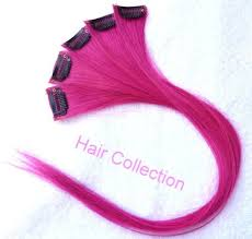 pink hair extensions hair collection 18 hot pink 100 human hair clip in