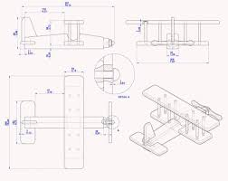 biplane kids toy plan