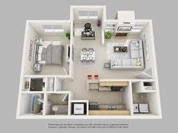 home plan 3d apartment magnificent 1 bedroom apartment floor plans 3d 1