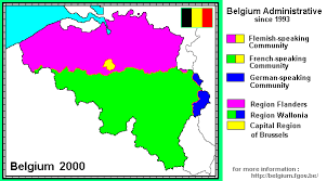 belgium language map whkmla history of belgium