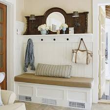 Entryway Bench And Storage Shelf With Hooks Shoe And Coat Rack Combo Clever Coat Rack Bench For The Home