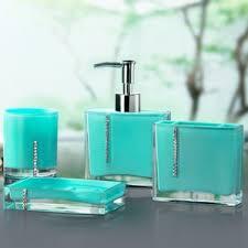 Bright Blue Bathroom Accessories by Bath Accessory Sets You U0027ll Love