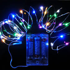led fairy lights battery operated powered fairy lights colour changing 40 leds ultra fine wire