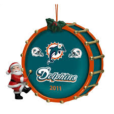 2011 annual miami dolphins ornament the danbury mint
