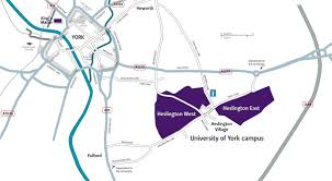 road map of york maps and directions about the the of york