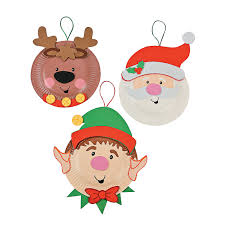 paper plate holiday characters craft kit craft kits holidays