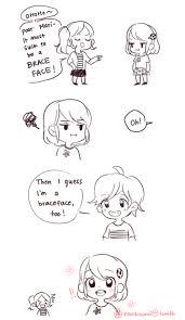 Brace Face Meme - braceface miraculous ladybug know your meme