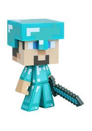 diamond steve minecraft diamond steve 6 vinyl figure