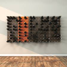 stact wine wall zebrano stact wine wall touch of modern