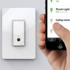 Wi Fi Light Switch By Wemo Light Switches Lights And Wemo App