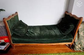 canapé leboncoin canapé lit de repos méridienne ancien velour ameublement hauts
