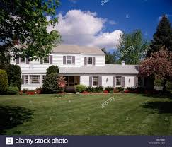 Houses In New Jersey Two Story House In New Jersey Usa Stock Photo Royalty Free Image
