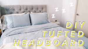 how do you make an upholstered headboard how to make a tufted headboard withwendy youtube
