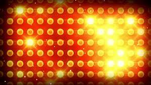 yellow lighting bulbs loop stock footage 4170094