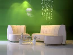 Wandgestaltung Wohnzimmer Mit Beleuchtung Wandgestaltung Grün Freshouse