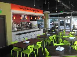 restaurant wall interior decoration of pizza fusion downtown