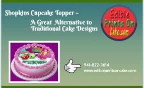 shopkins cupcake topper u2013 a great alternative to traditional cake