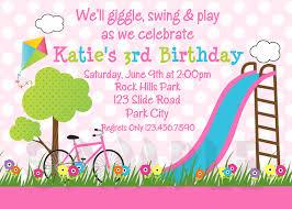 birthday invites chic girls birthday party invitations ideas free