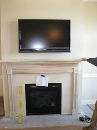 installing a fireplace mantle