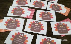 craftaholics anonymous thanksgiving table craft turkey trivia