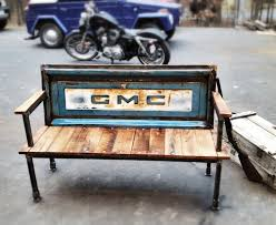 benches made from tailgates cool teenage rooms 2015