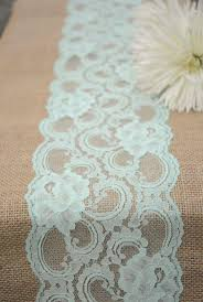 Country Shabby Chic Wedding by Vintage Mint Peppermint Pastel Spring Wedding Burlap Lace Burlap