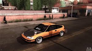 jdm cars honda crx jdm for gta san andreas