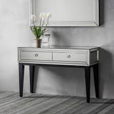 Mirrored Console Table Bedroom Furniture Console Table Modern Mirrored Sofa Table